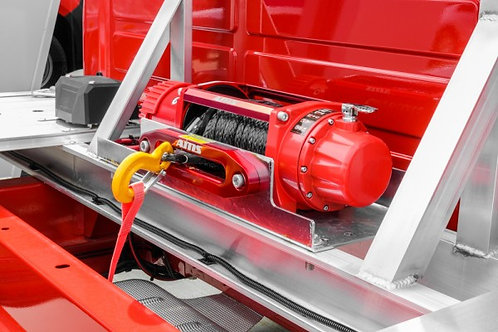 AMS Winch in Red
