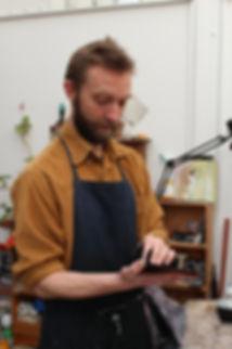 yann legrand, atelier, gravure