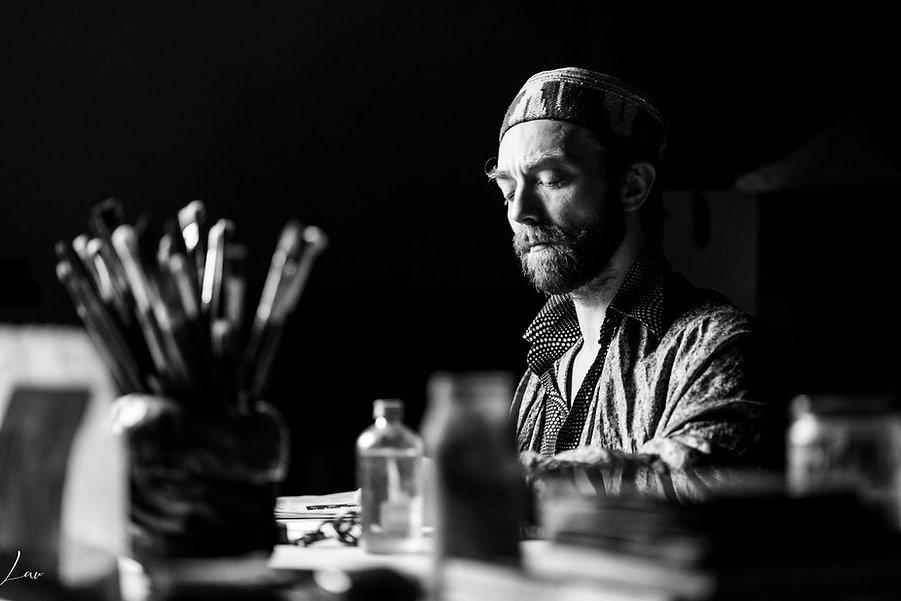 photo portait de yann legrand par Laurent Mietton