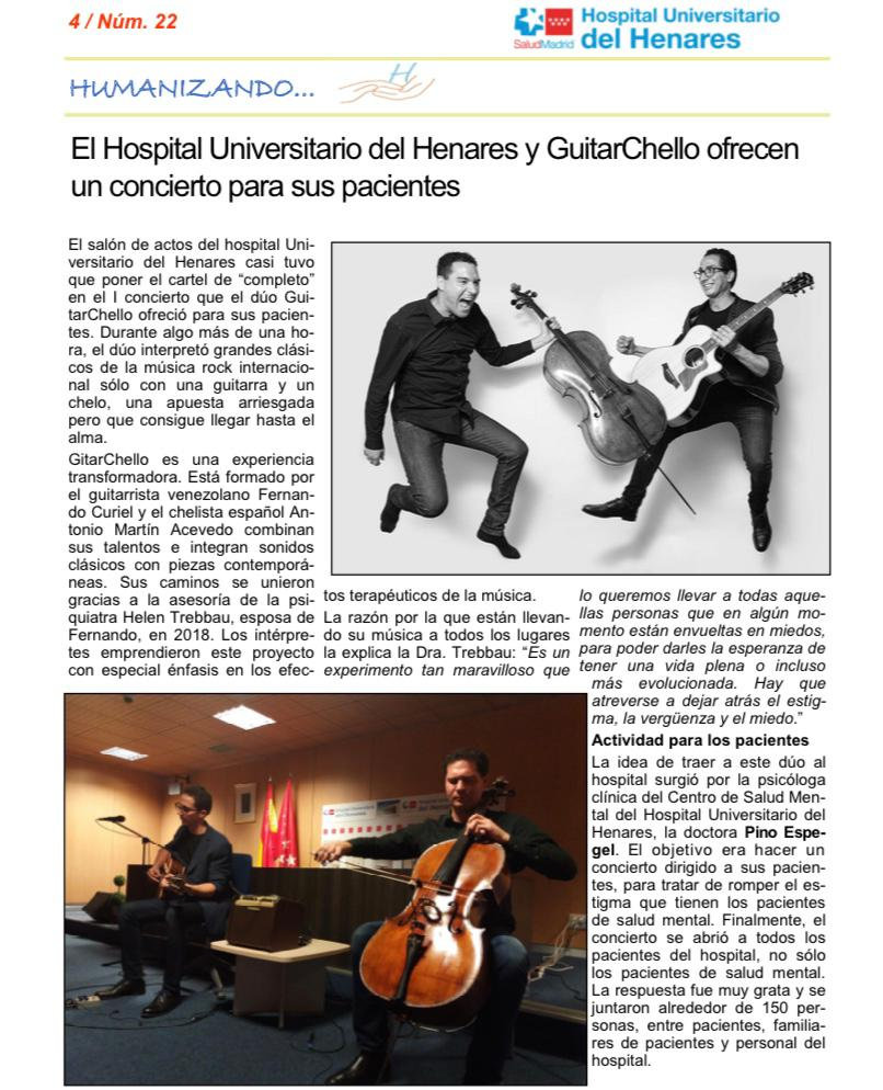 GuitarChello Hospital Universitario del