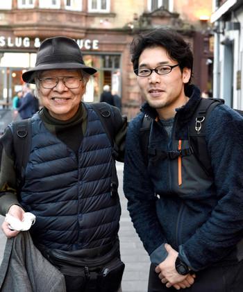 フォトジャーナリストの樋口健二さんにお会いしました。