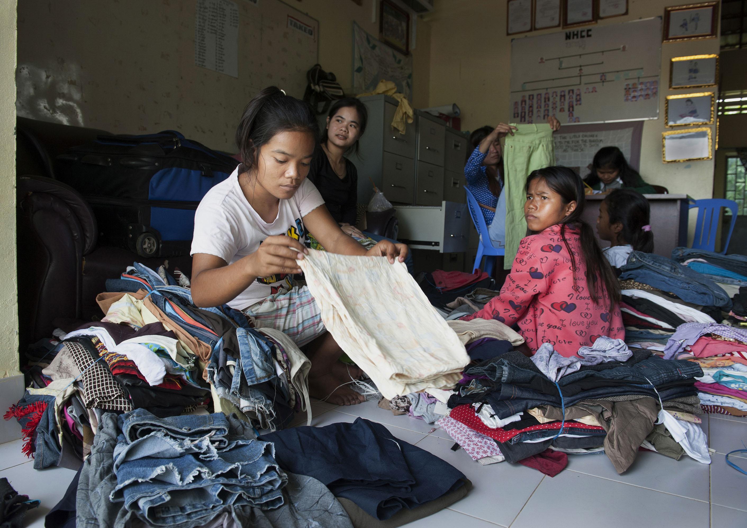 HIV Orphans' House CAMBODIA