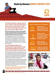 Made by Women Impact Report 2019