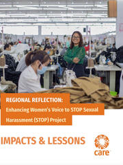 Enchancing Women's Voice to STOP Sexual Harassment Project - Regional Reflection