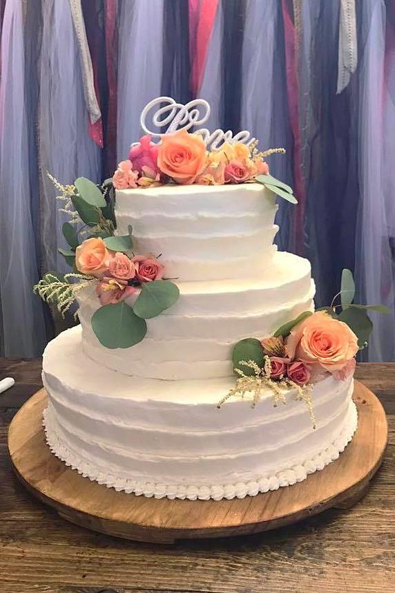 Cake flower example #1