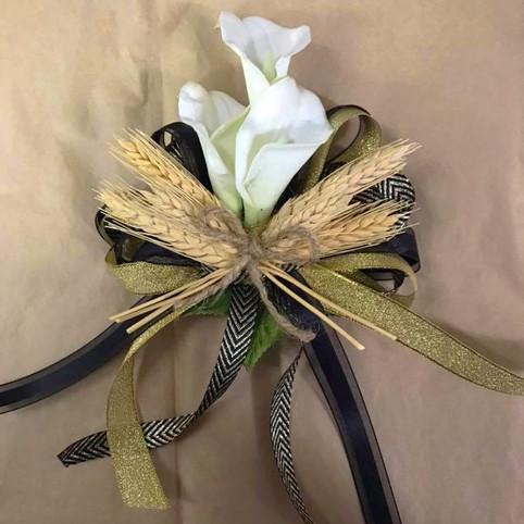 calla lily corsage