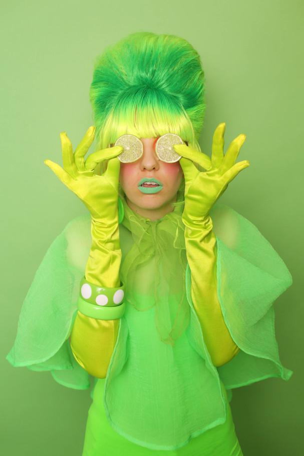 Monochromatic Lime Green