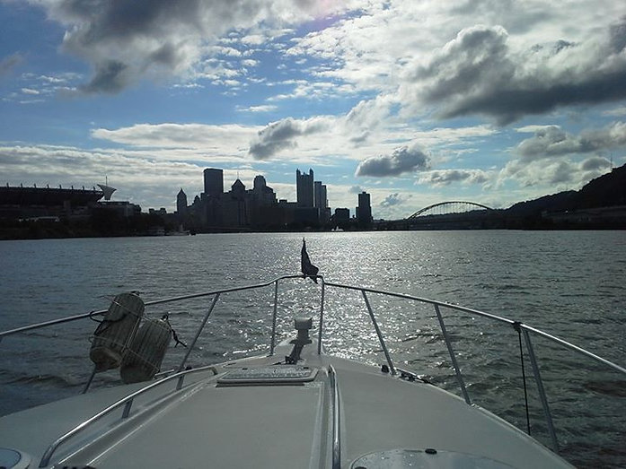Riverview skyline of Pittsburgh