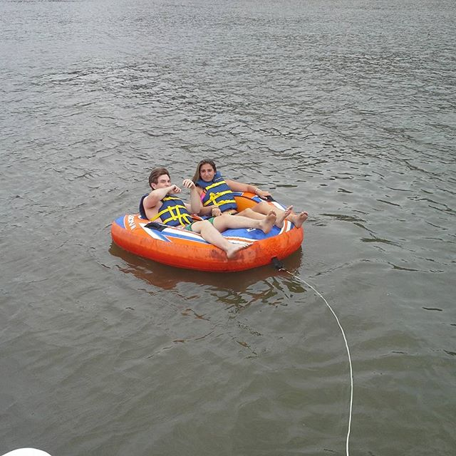 #tubing #3rivers with #RushHourBoatCharters