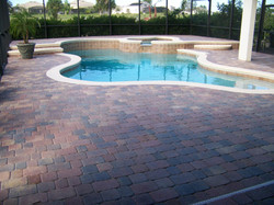 Pavers Pool Deck After