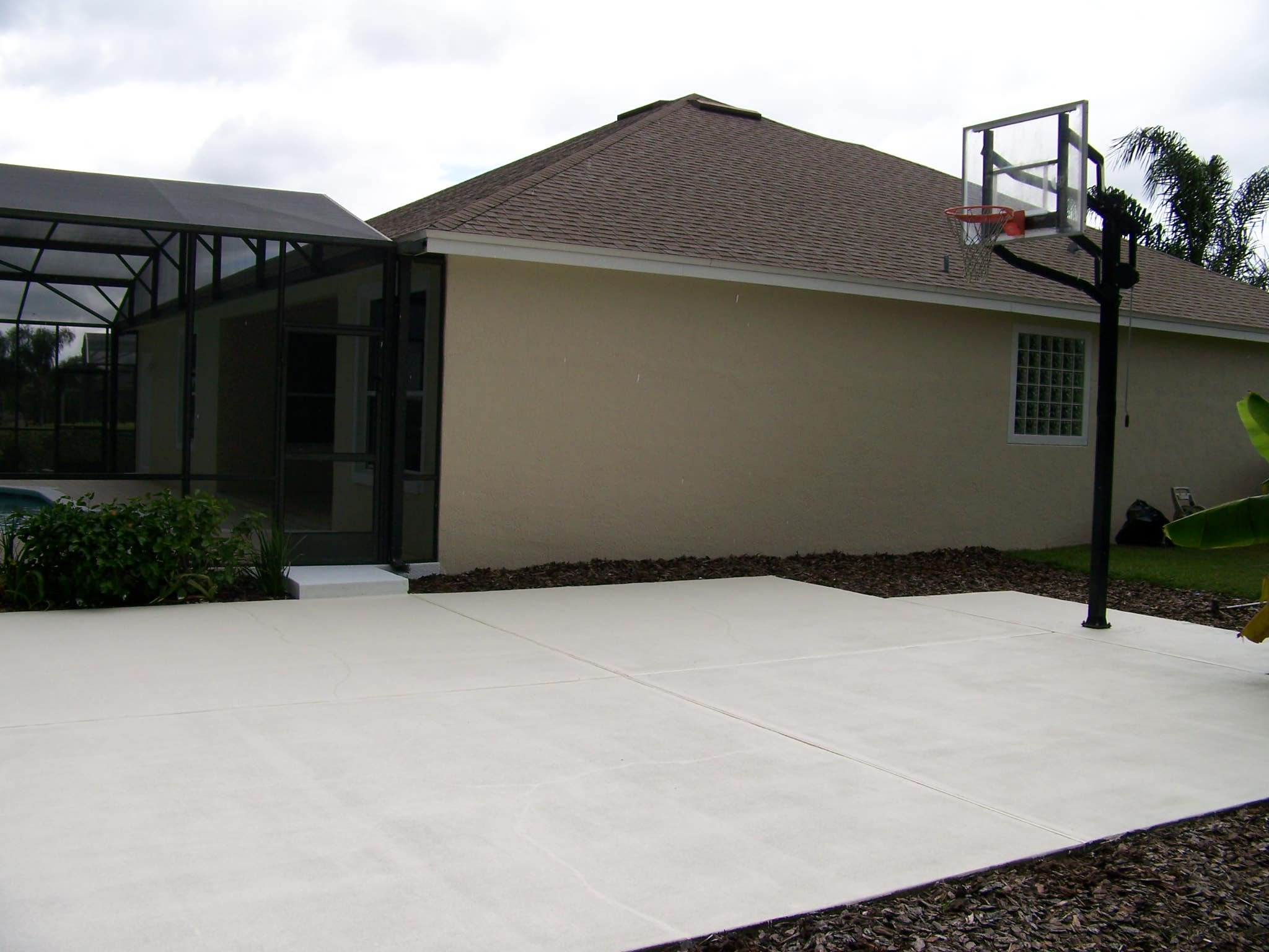 Basketball Court After