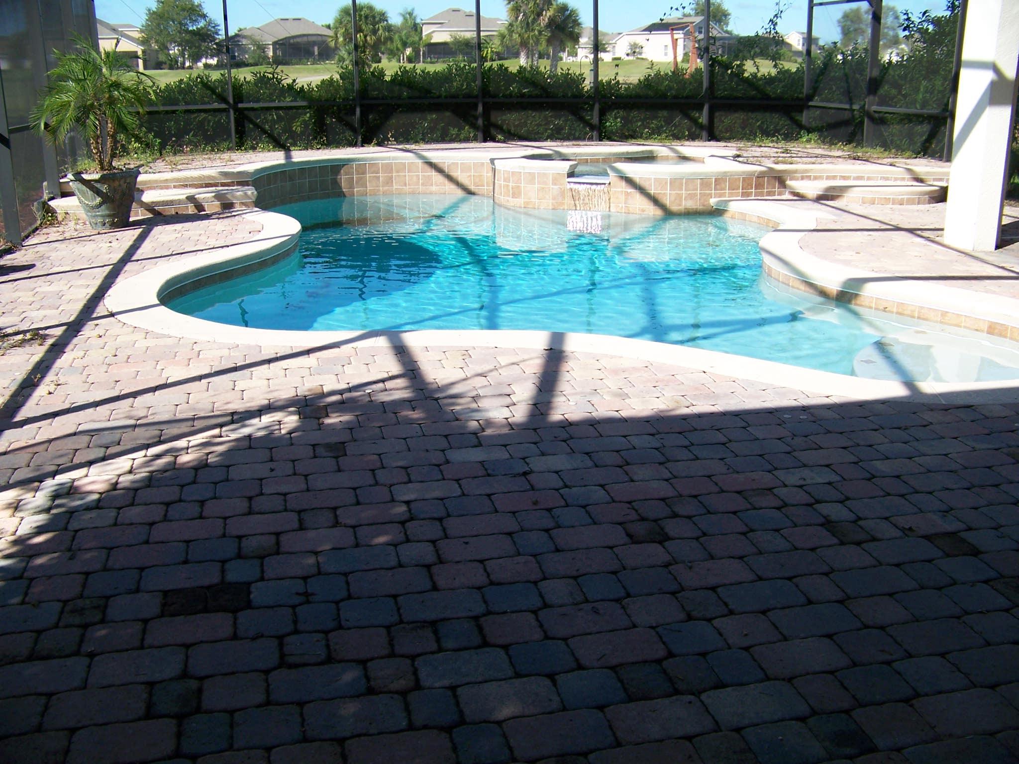 Pool deck #2 (before)