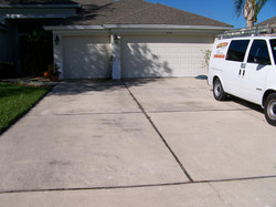 Driveway #1 (before)