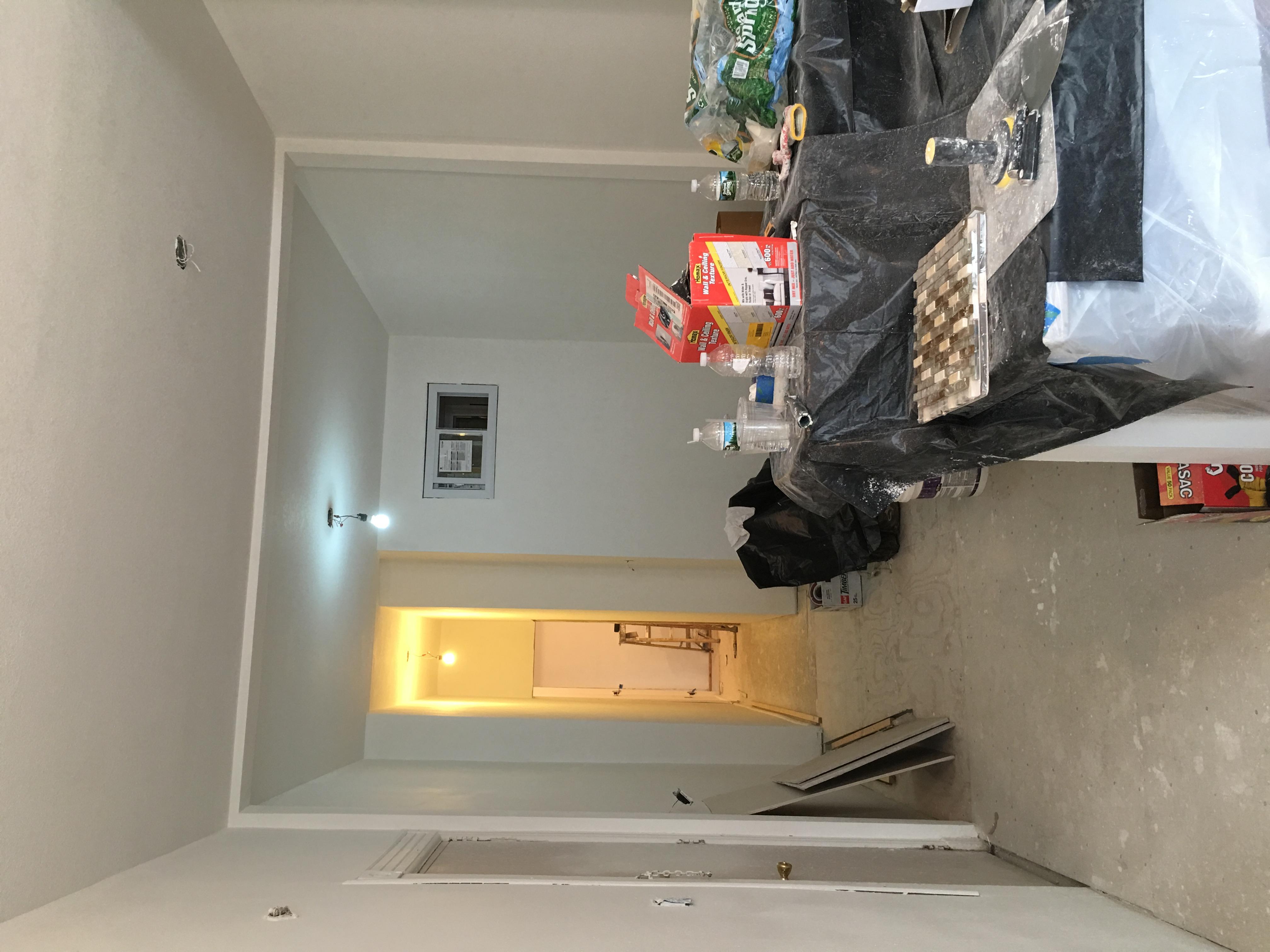 Hallway #1 (before)