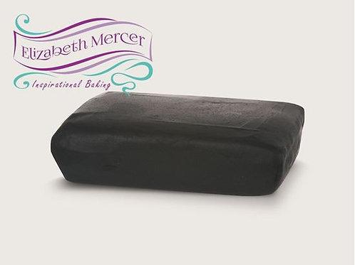 Elizabeth Mercer zwarte fondant glazuur 250g