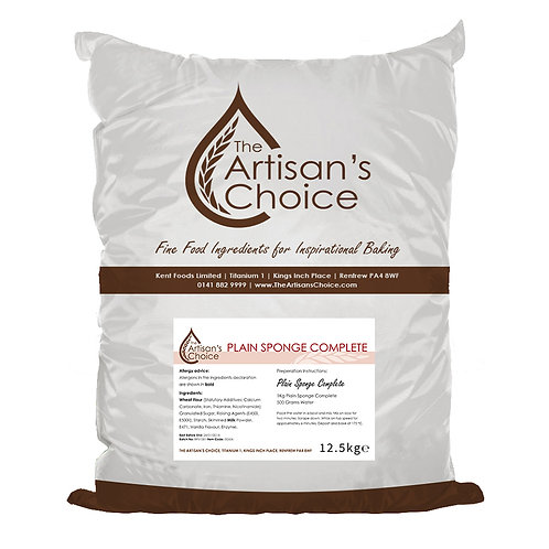 The Artisan's Choice mix voor sponge cake 12,5kg