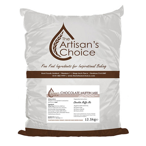 The Artisan's choice mix voor chocolade muffin 12,5kg
