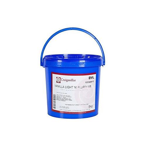 Craigmiller licht & 'fluffy' vanille glazuur 8kg
