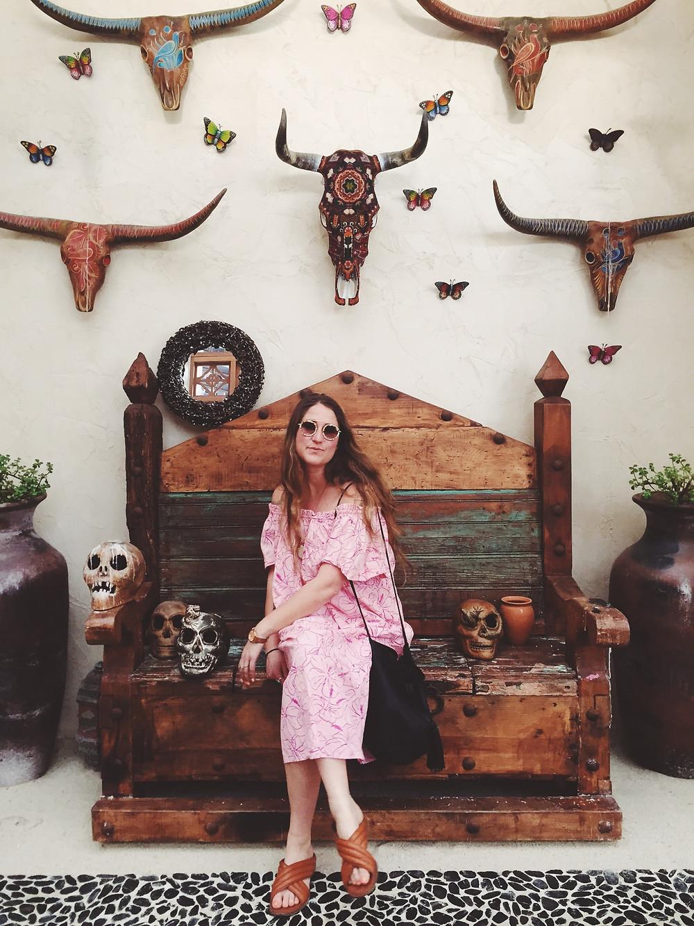 Best Places to Stay in Todos Santos - Emily Katz Travels Todo Santos Mexico - Cabo Casa Calavera