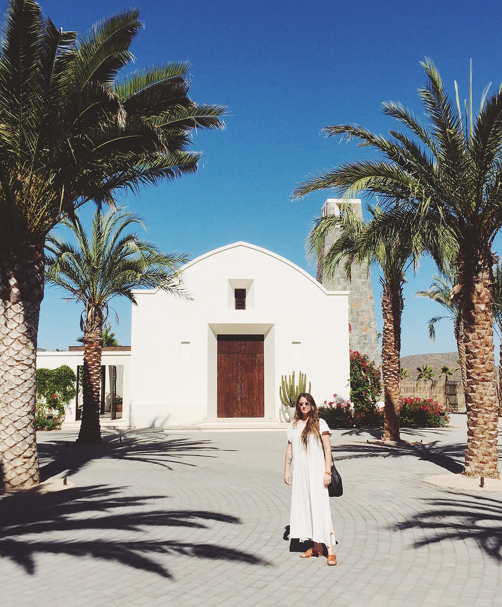 Best Places to Stay in Todos Santos - Emily Katz Travels Todo Santos Mexico - San Cristobal Hotel Church
