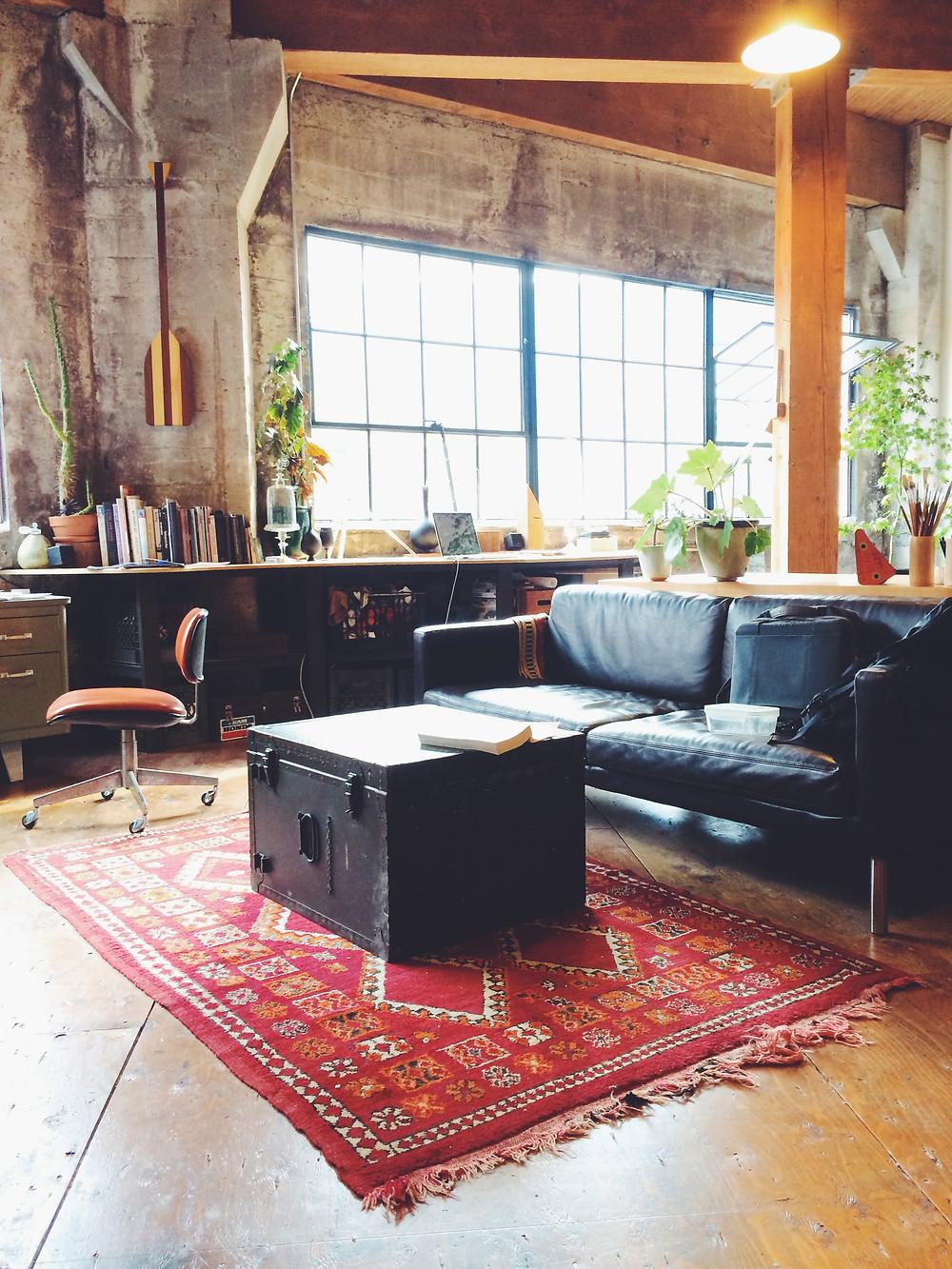 Andrew and Andy's studio