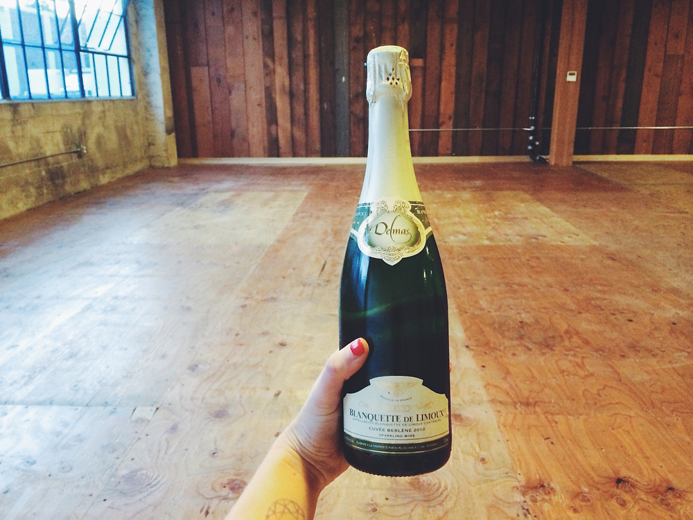 sparkling wine to celebrate