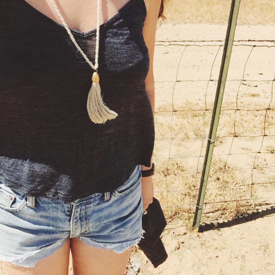 my fav TAKARA necklace