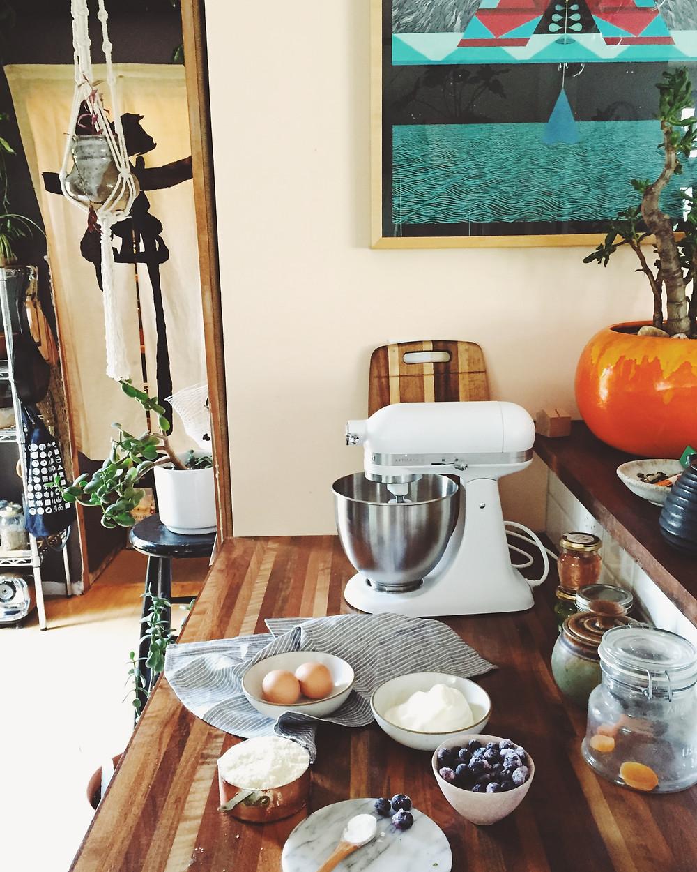 Blueberry muffin recipe Magic Dream Life