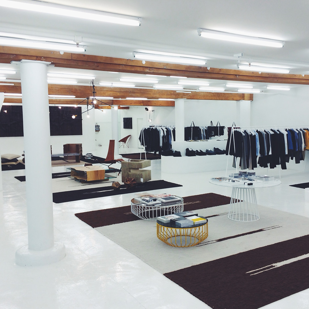 the most incredible mens store interior.