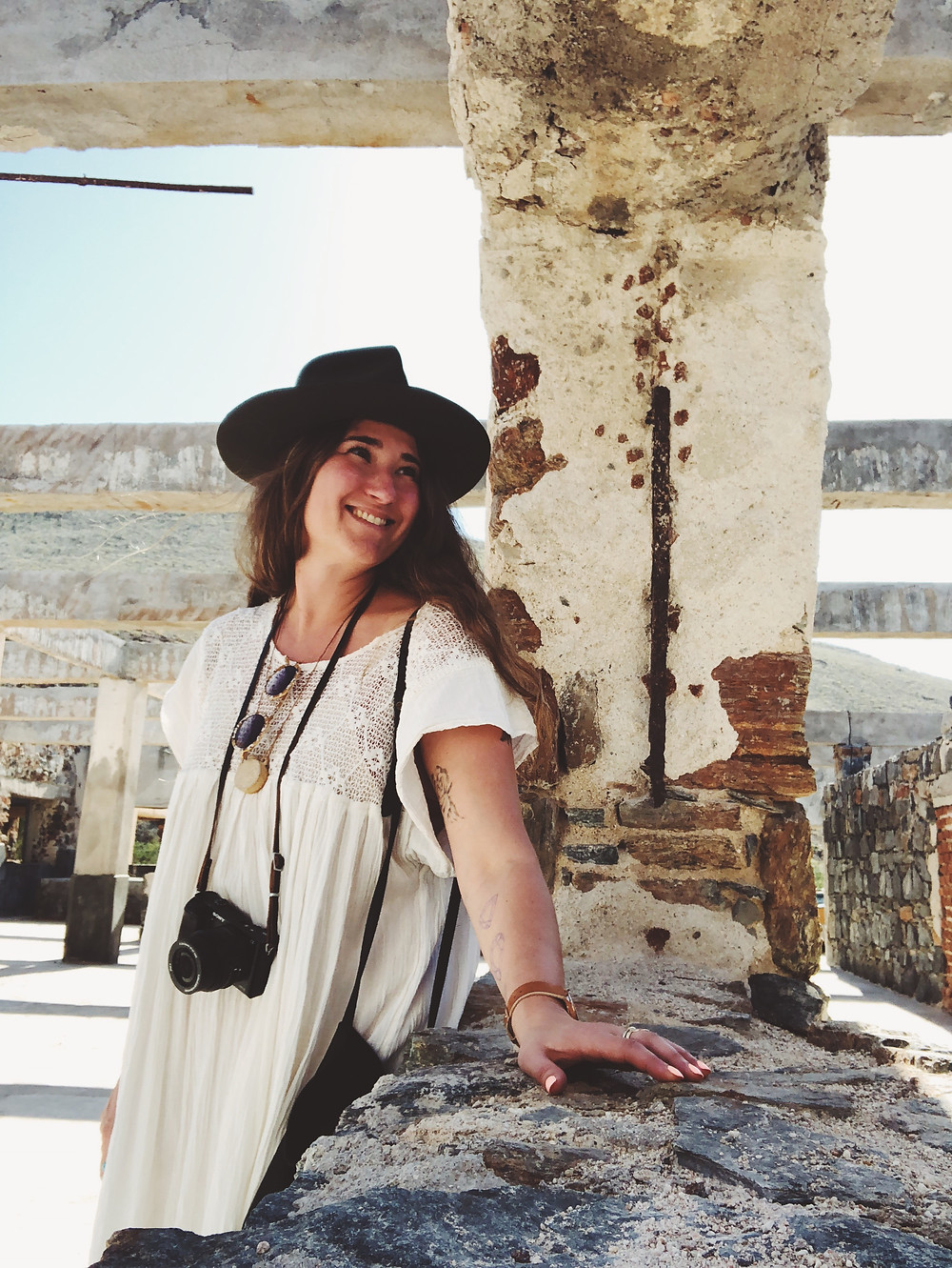 Exploring the ruins near the hotel - Best Places to Stay in Todos Santos - Emily Katz Travels Todo Santos Mexico -