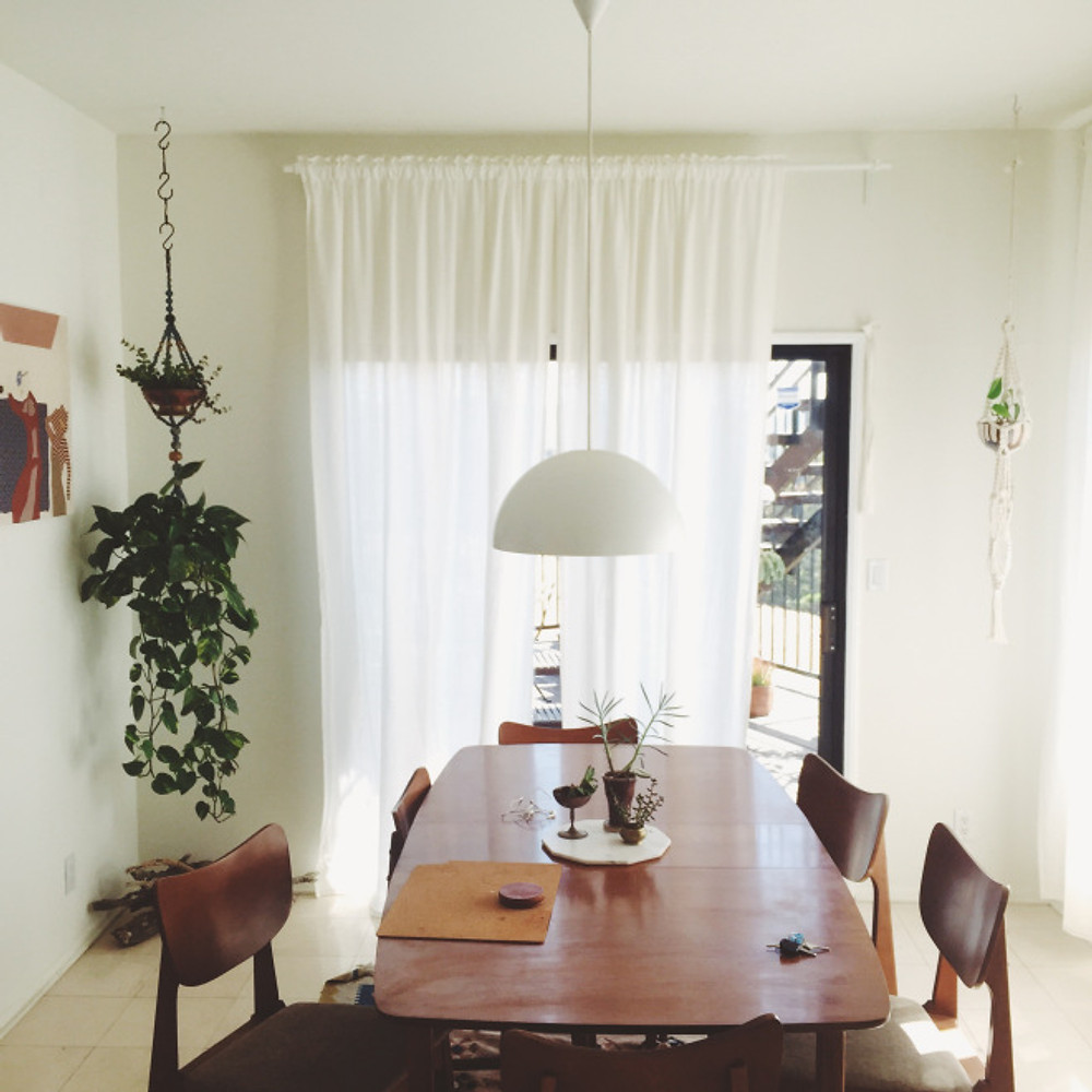 Dining at the El Rosa House