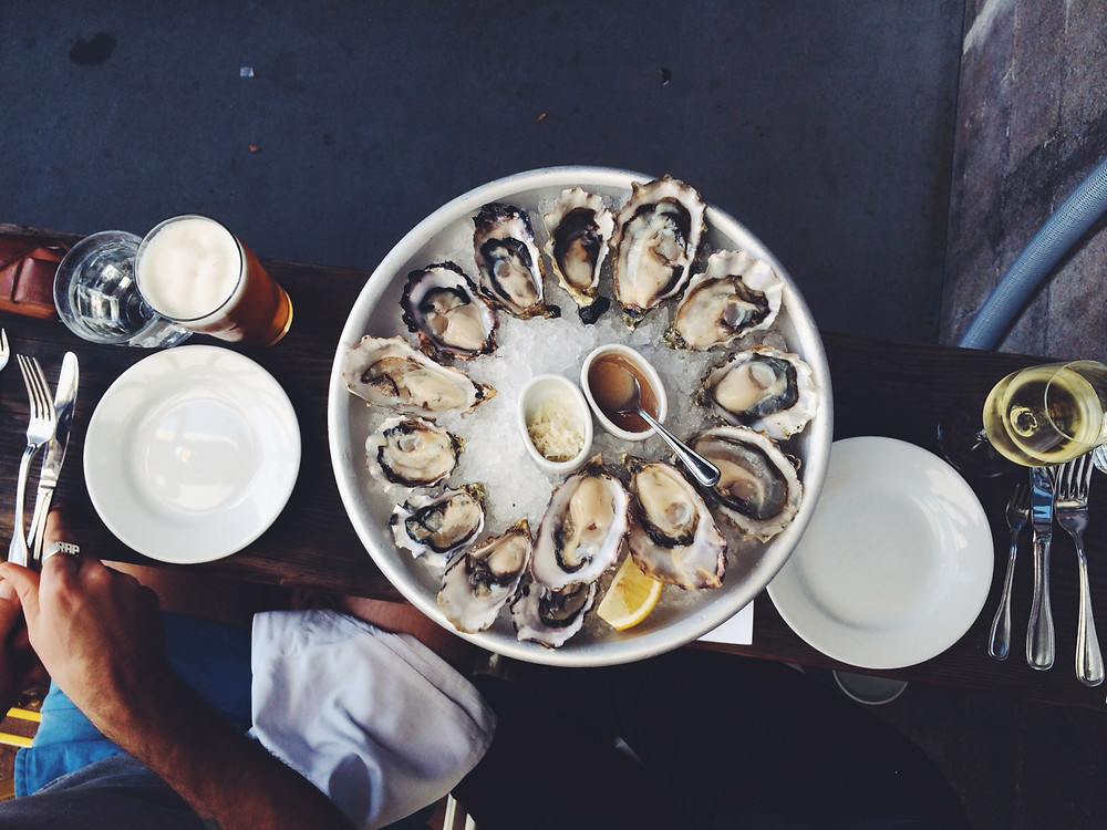 oysters at the Walrus and the Carpenter