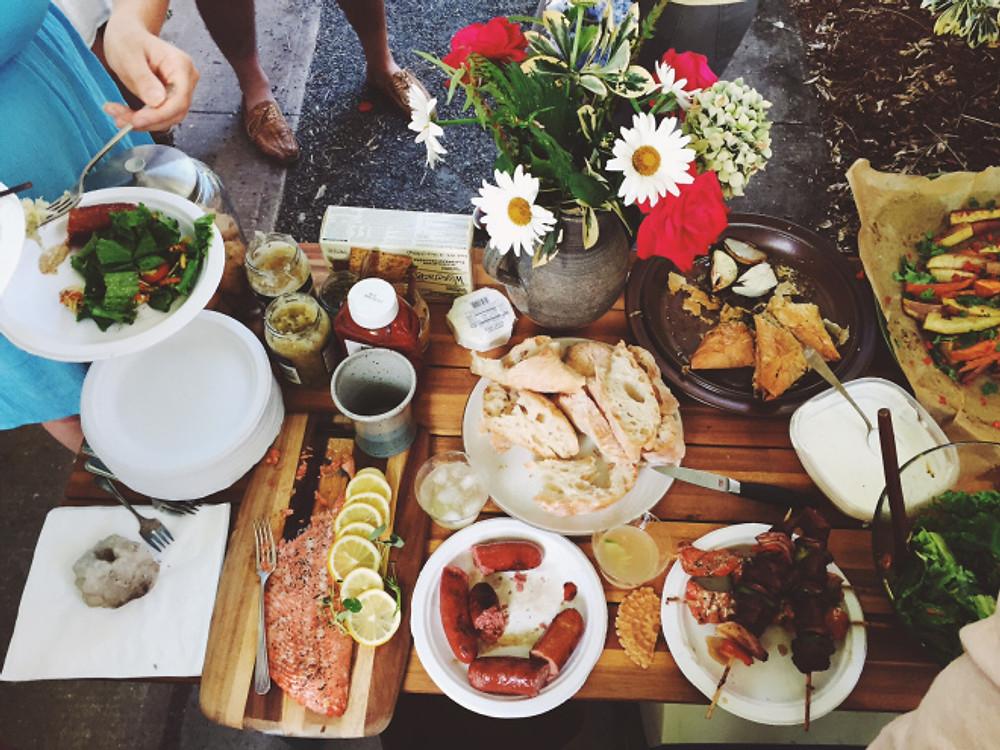 so many tasty savory things