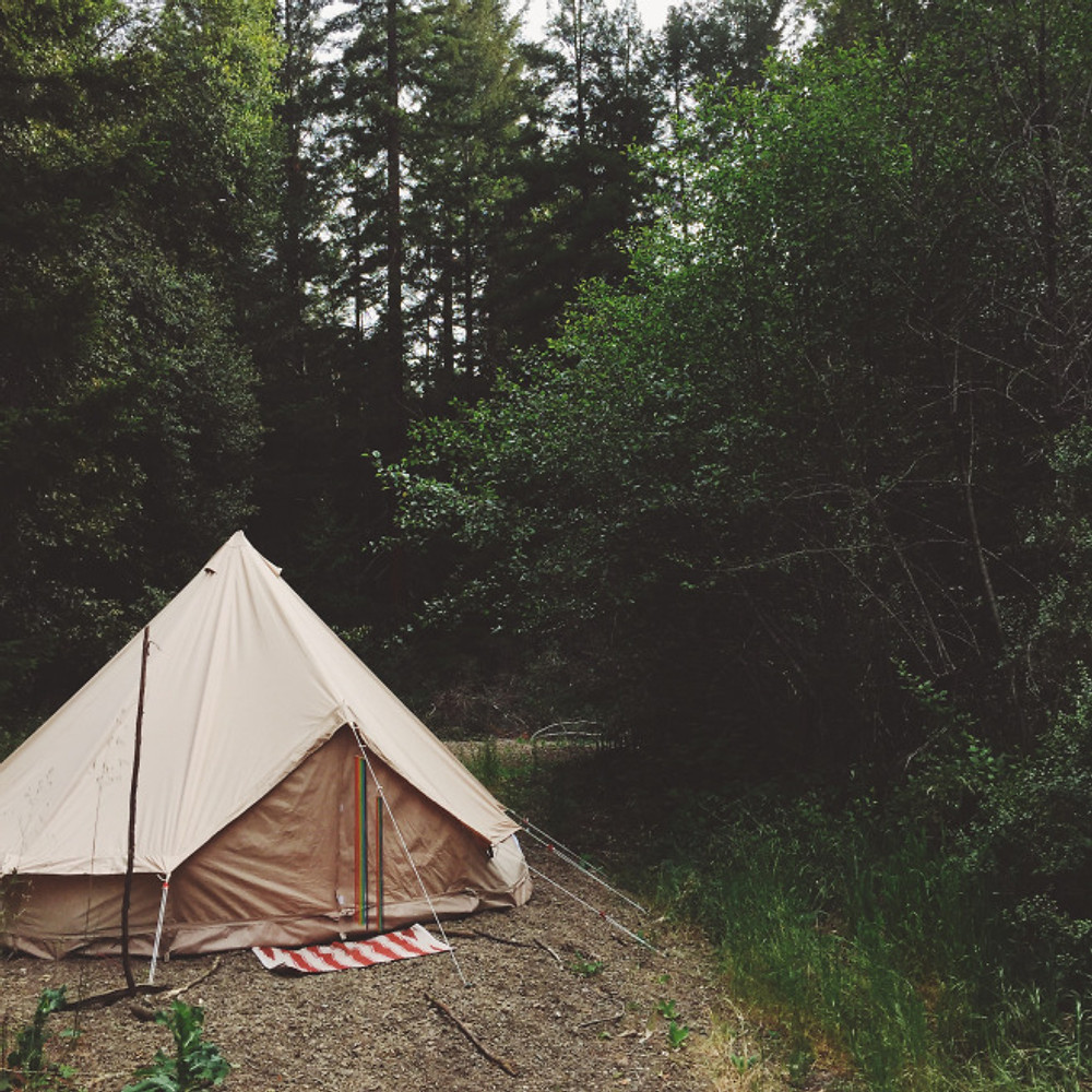The beautiful Stout Tent