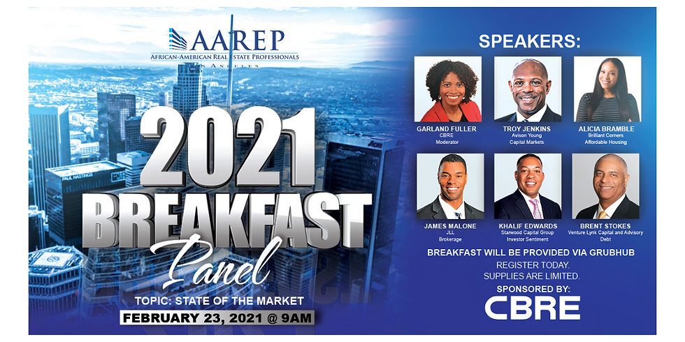 2021 State of the Market Breakfast Panel