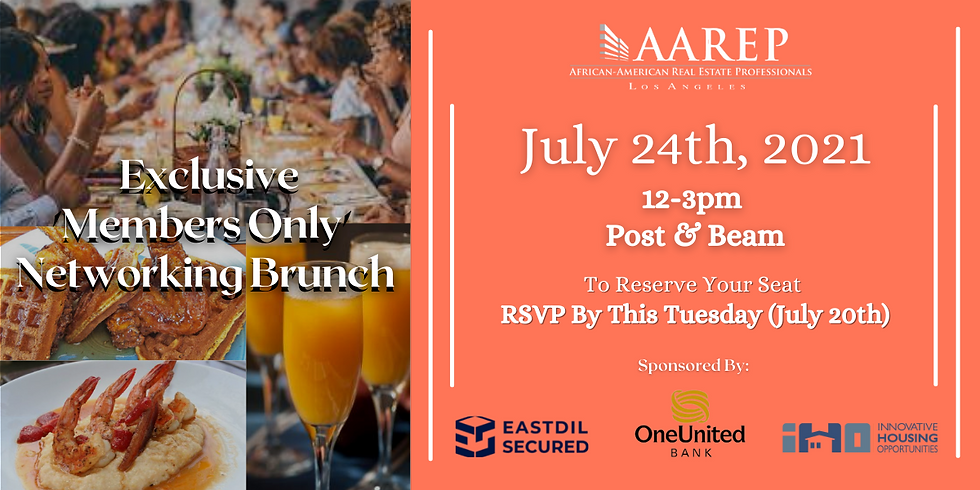 'Members Only' Networking Brunch
