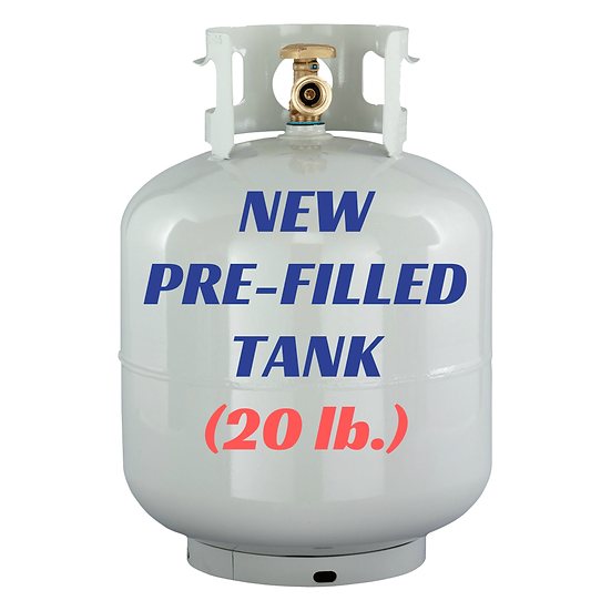 New Pre-Filled Tank (20lb.)
