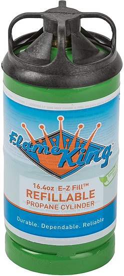Flame King Refillable Propane Tank (1lb.)