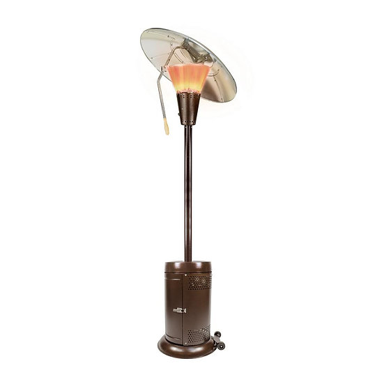 Patio Heater (38,200 BTU Bronze Heat-Focusing)
