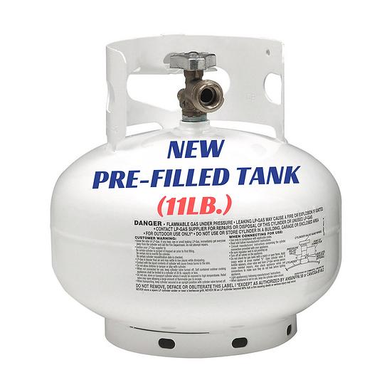 New Pre-Filled Tank (11lb.)