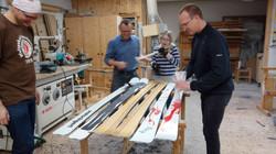 Skibau Workshop in Mondsee