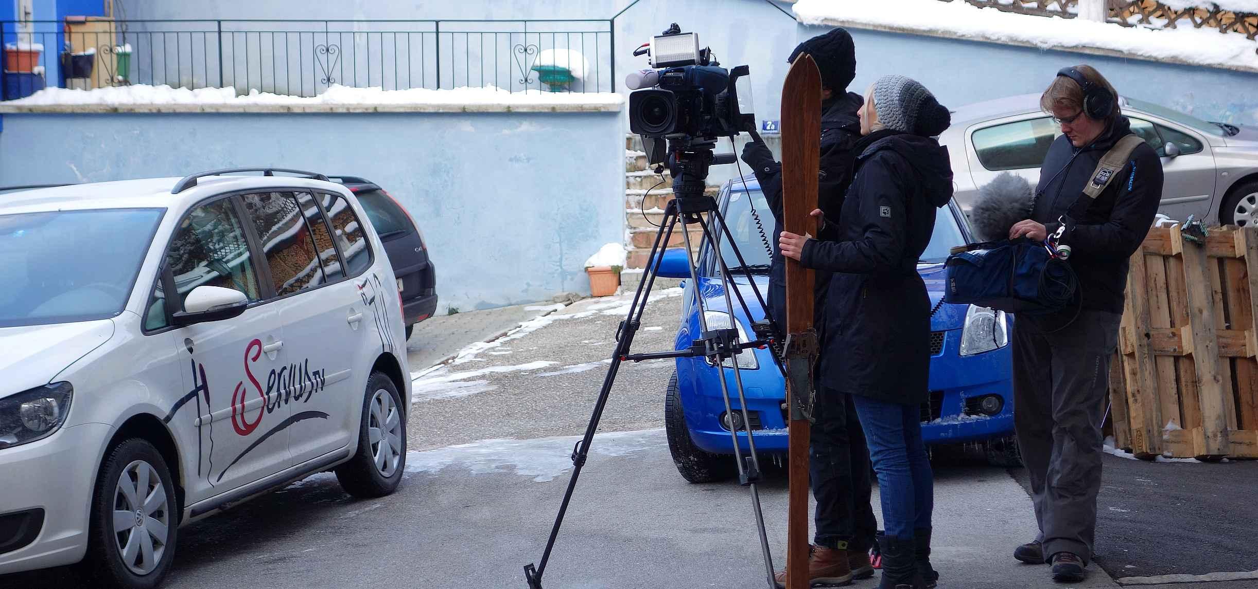 servus TV in Mondsee bei skiWERK