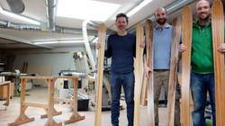 Holzski bauen bei skiwerk