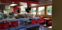 Domino's Cherryville Front Counter