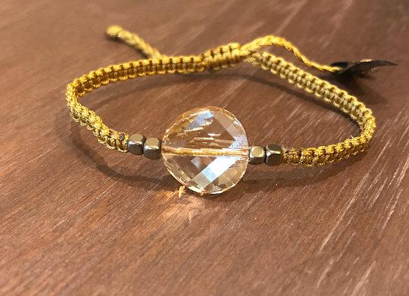 Golden Shadow Full Moon Swarowski Bracelet 14mm