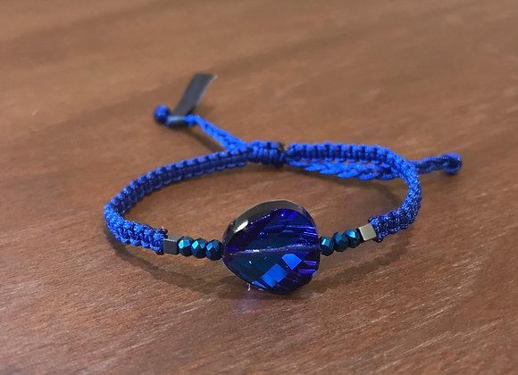 Bermuda Blue Full Moon Swarowski Bracelet 14mm