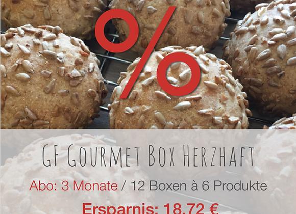 GF Gourmet Box herzhaft / 3M / Ersparnis: 18.72 €