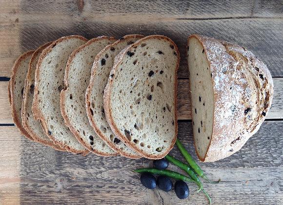 Chili Oliven Brot