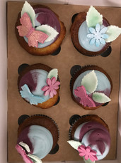 Jettes Schmetterlings Cupcakes