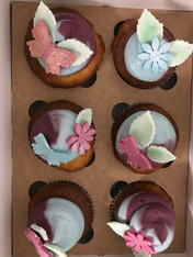 Jettes Schmetterlings Cupcakes